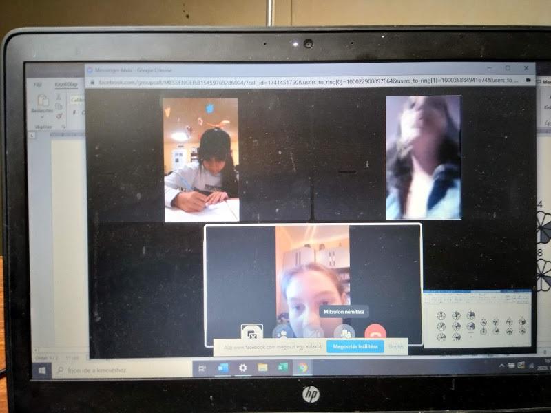 skype foglalkozás közben